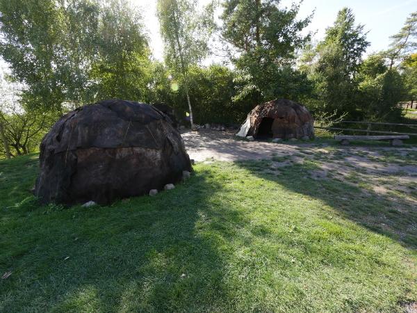 Tente du paléolithique